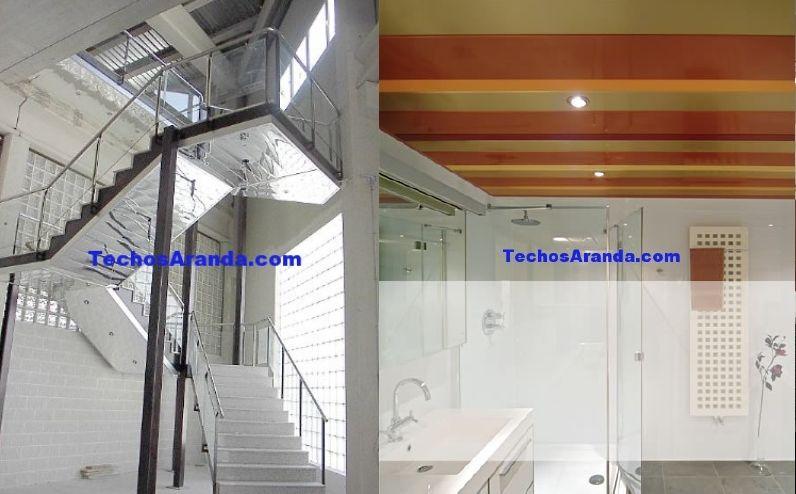 Profesionales falsos techos aluminio registrables decorativos