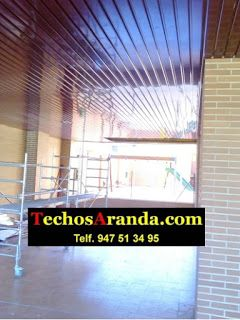 Profesionales montaje techos aluminio acústicos decorativos