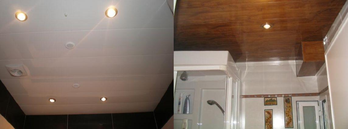 Profesionales montaje techos aluminio registrables decorativos