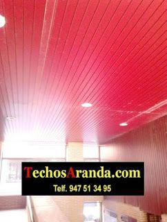 Profesionales ofertas techo aluminio acústico