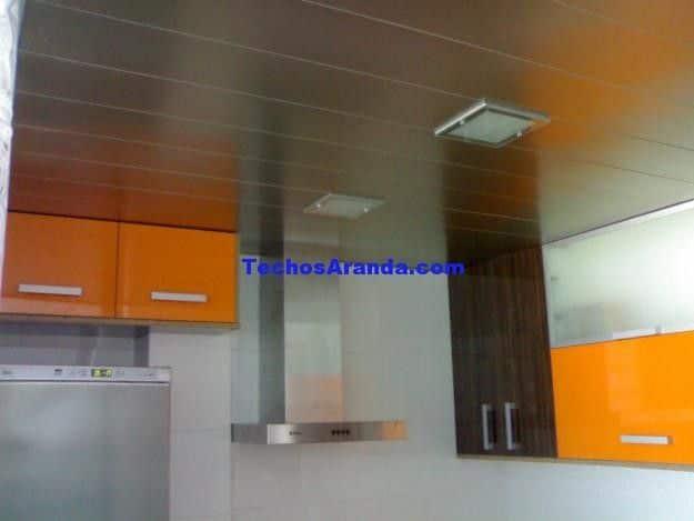 Profesionales techos de aluminio acústicos decorativos para cocinas