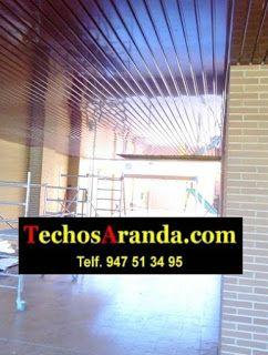 Servicio techo aluminio acústico decorativo