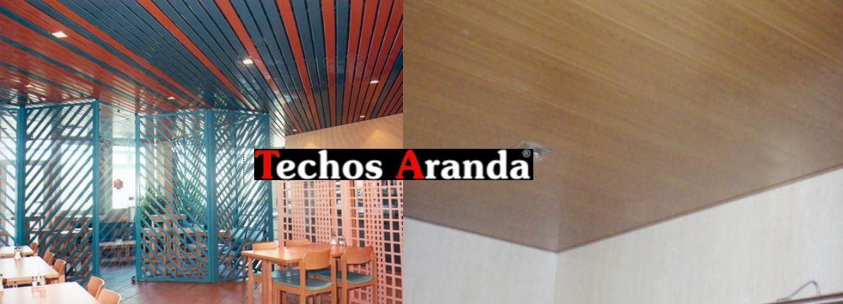 Servicio techo aluminio registrable decorativo