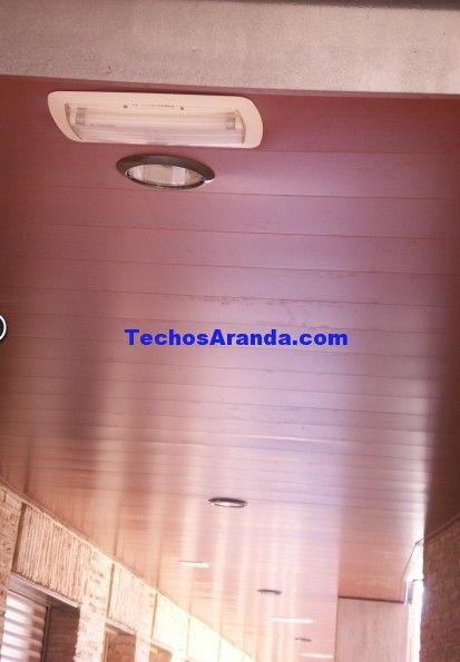 Servicio techos de aluminio acústicos decorativos