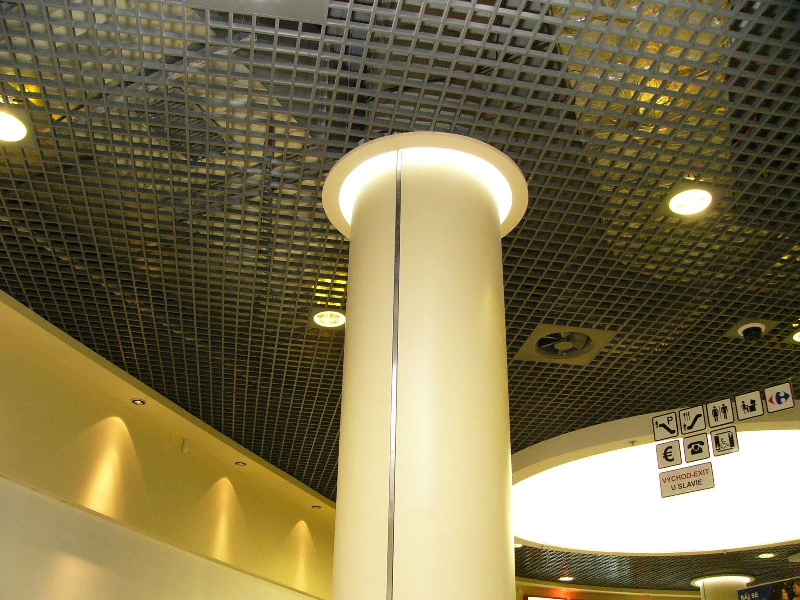 Servicios de techos de aluminio acústicos decorativos