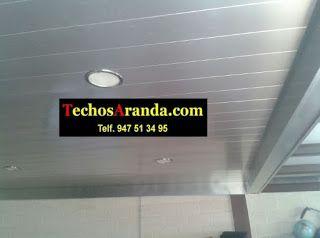 Servicios techos de aluminio acústicos decorativos