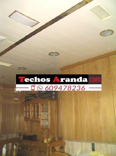 Servicios techos de aluminio registrables decorativos