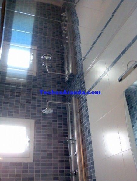 Techo aluminio registrable decorativo baño