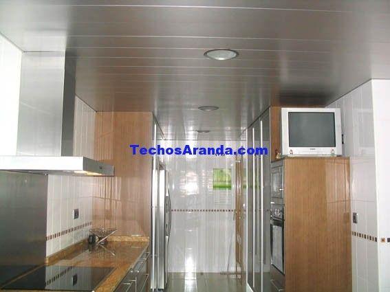 Techo de Aluminio para interiores