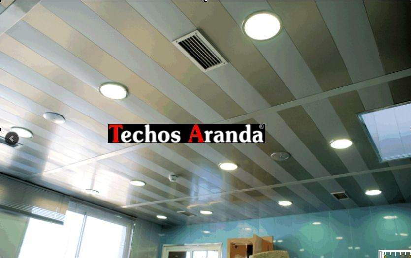 Techos de aluminio Aranda