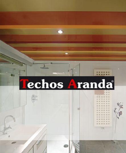Techos de aluminio acústicos decorativos para baños