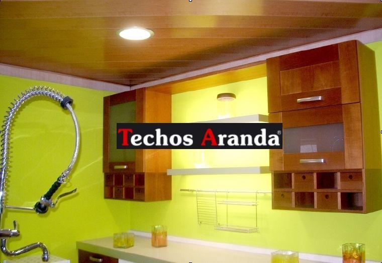 Techos de aluminio registrables decorativos para cocinas