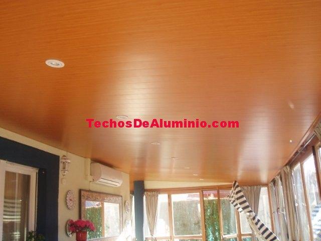 Techos de lamas de Aluminio registrables decorativas