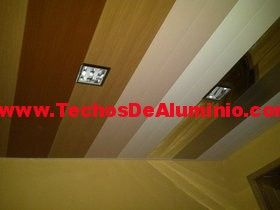 Techos falsos de aluminio acústicos decorativos