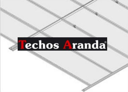 Techos lama aluminio desmontable decorativo