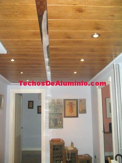 Techos lama aluminio registrable decorativo