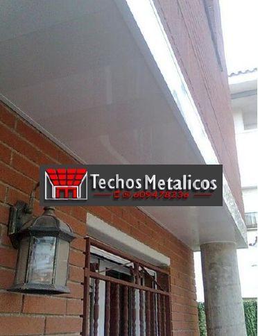 Trabajo de falsos techos aluminio lacados