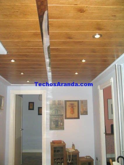 Trabajo de falsos techos aluminio registrables decorativos