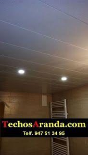 Trabajo de montaje techos aluminio registrables decorativos