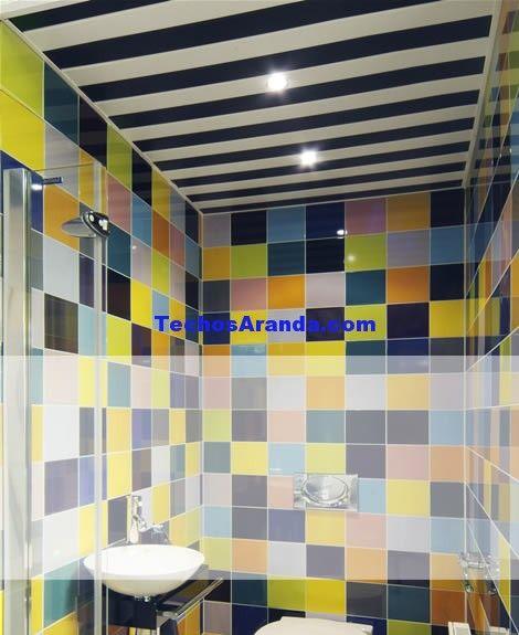 Trabajo de techos de aluminio acústicos decorativos para baños