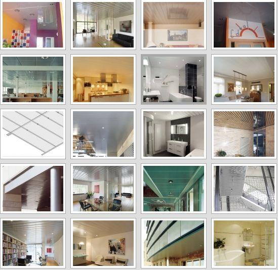 Trabajo de techos de aluminio acústicos decorativos