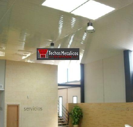 Trabajo de venta techos de aluminio decorativos