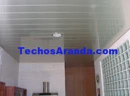 Trabajo de venta techos de aluminio lacados