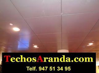 Trabajo falsos techos aluminio acústicos decorativos