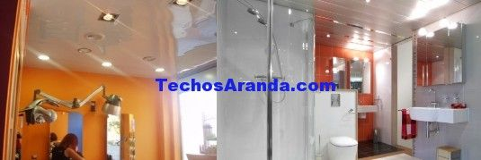 Trabajo techos de aluminio acústicos decorativos para baños