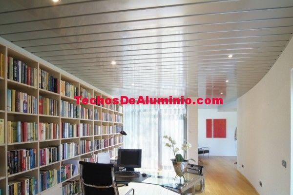 Trabajo techos de aluminio acústicos decorativos