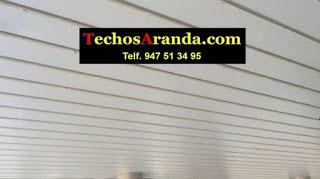 Trabajos económicos empresa techos aluminio acústicos