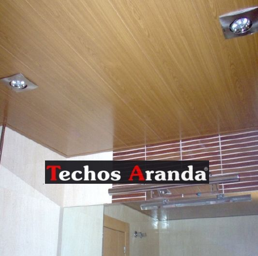 Trabajos económicos empresa techos aluminio registrables decorativos