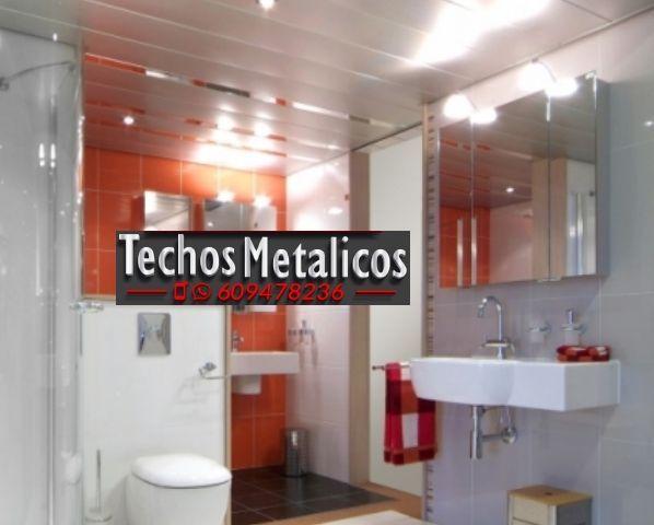 Trabajos económicos techos de aluminio decorativos para baños