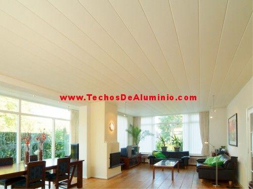 Trabajos empresa techos aluminio acústicos
