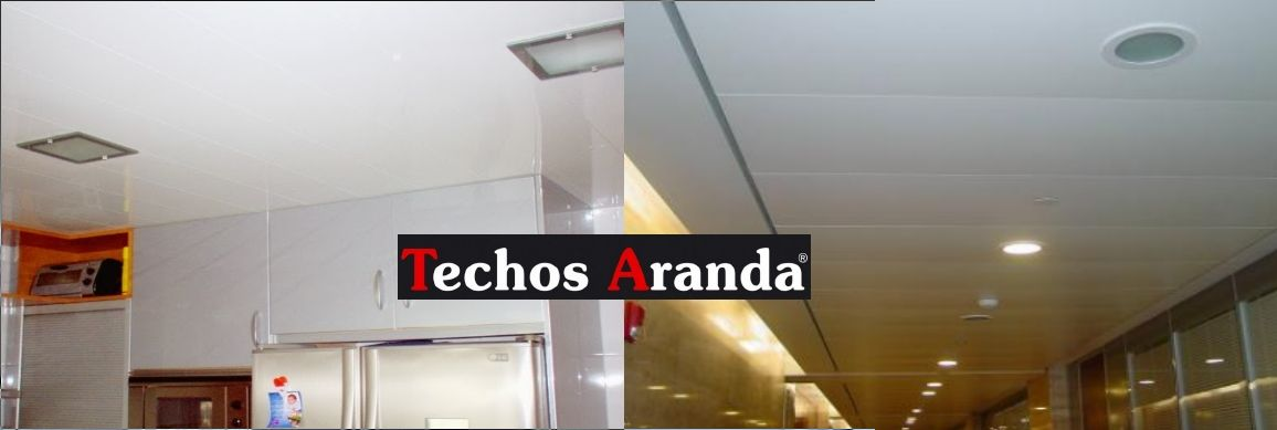 Trabajos garantizados falsos techos aluminio desmontables decorativos