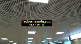 Trabajos garantizados montaje techos aluminio acústicos decorativos