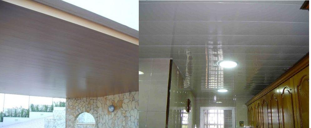 Trabajos garantizados montaje techos aluminio desmontables decorativos