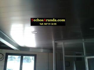 Trabajos garantizados montaje techos aluminio registrables decorativos
