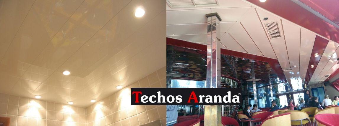 Trabajos garantizados techos de aluminio acústicos decorativos para baños
