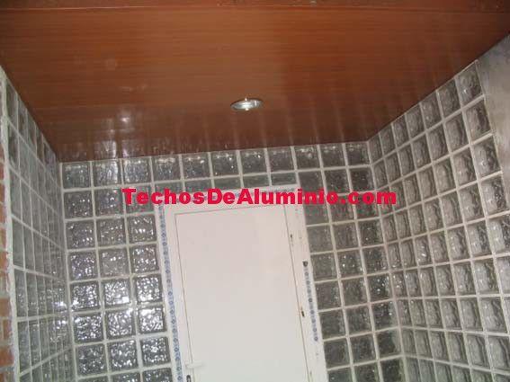 Trabajos garantizados techos de aluminio acústicos decorativos