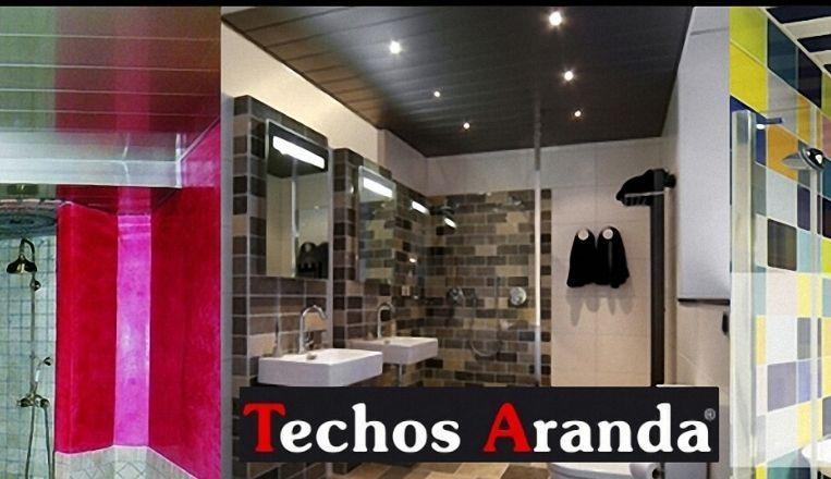 Trabajos garantizados techos de aluminio desmontables decorativos para baños