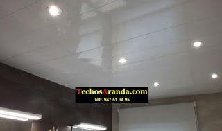 Trabajos garantizados techos de aluminio lacados