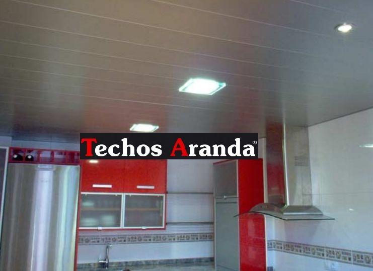 Trabajos garantizados techos de aluminio registrables decorativos para cocinas
