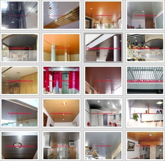 Trabajos lamas techos aluminio acústicos decorativos