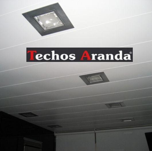 Trabajos profesionales empresa techos aluminio registrables decorativos