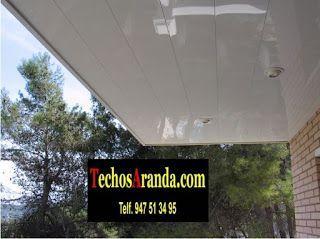 Trabajos profesionales falsos techos aluminio lacados