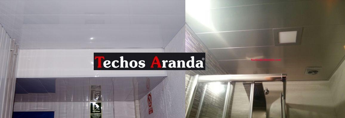 Trabajos profesionales instaladores de techos de aluminio acústicos
