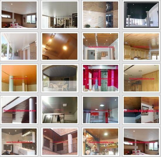 Trabajos profesionales montaje techos aluminio acústicos decorativos