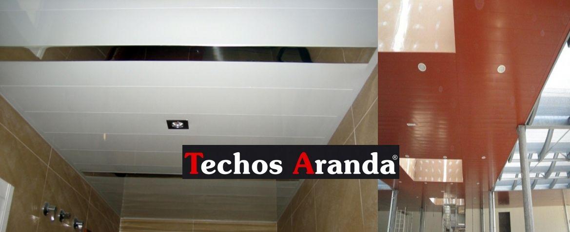 Trabajos profesionales techos de aluminio acústicos decorativos para baños