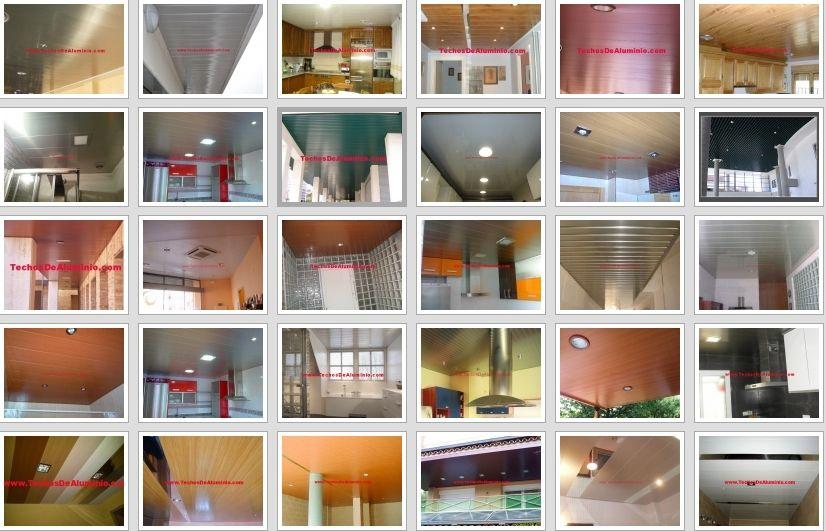 Trabajos profesionales techos de aluminio acústicos decorativos